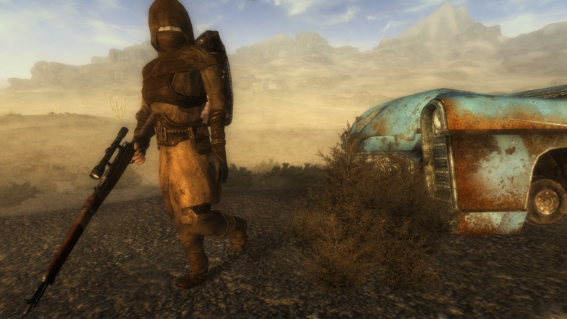 Wasteland Seeker Armor At Fallout New Vegas Mods And Community