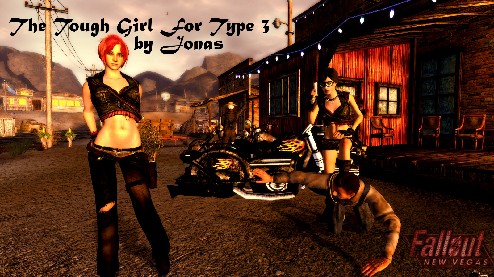 The Tough Girl Outfit for Type 3 at Fallout New Vegas - mods and ...