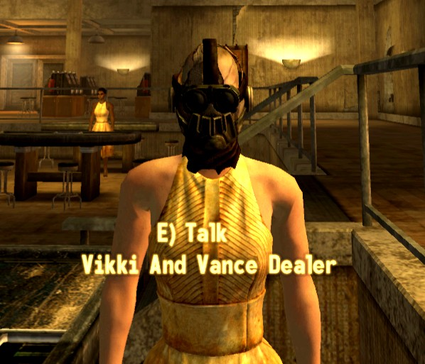 Fallout: New Vegas Side. you can head back to the Vikki and Vance Casino in  Primm,. Johnson Nash will alert you to the fact that Primm is in dire need  of a ...