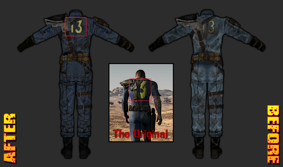 Vault Suits Retextured At Fallout New Vegas Mods And Community