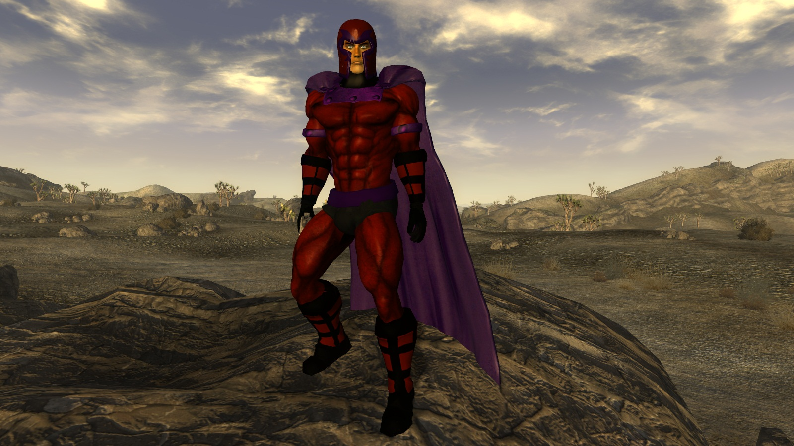 Superhero costumes at Fallout New Vegas - mods and community