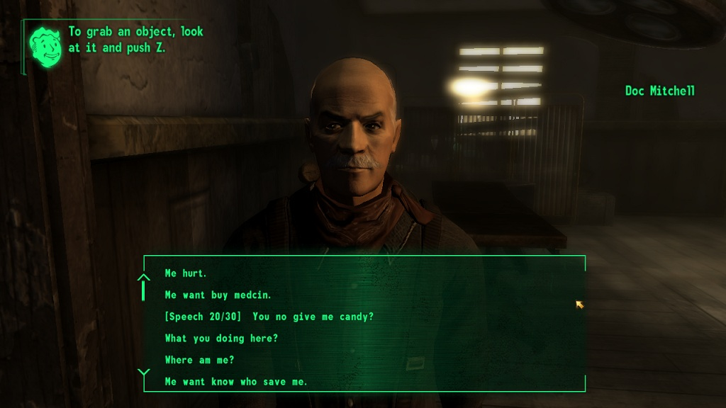 Similiar Fallout New Vegas Low Intelligence Dialogue Keywords