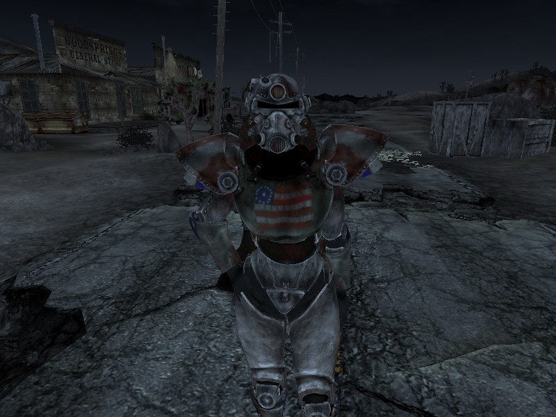 The American Dream T 51b Power Armor At Fallout New Vegas