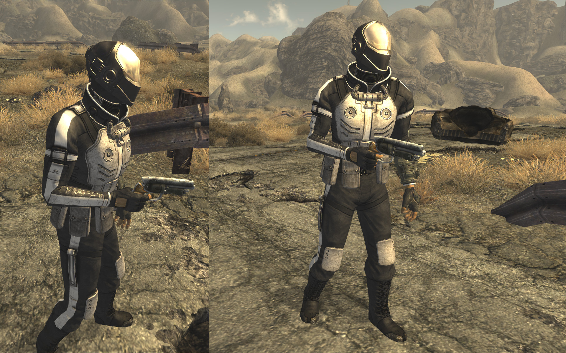Stealth Suit MK II Helmet by request at Fallout New Vegas ...