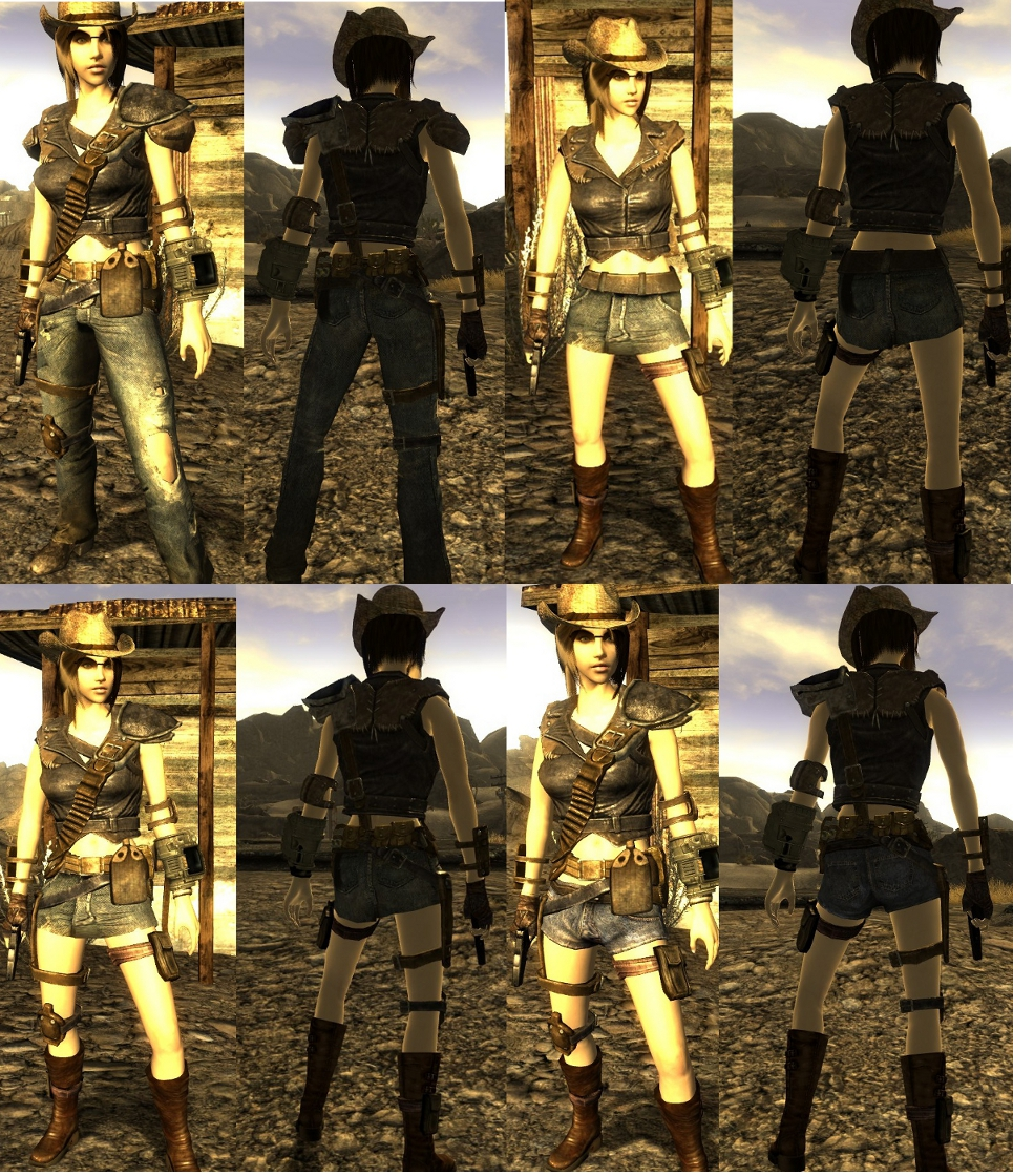 Fallout 3 Type 3 Skimpy Armor Replacer