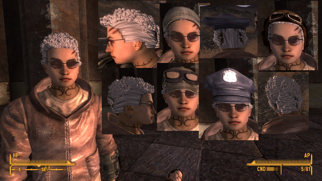 male hair pack at fallout new vegas - mods and community