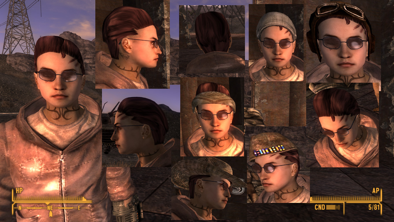 fallout nv hairstyles ~ vlca