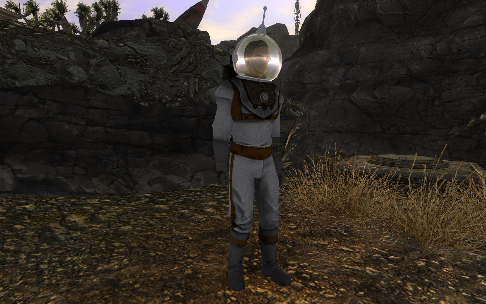 Recolored Space Suit At Fallout New Vegas Mods And Community