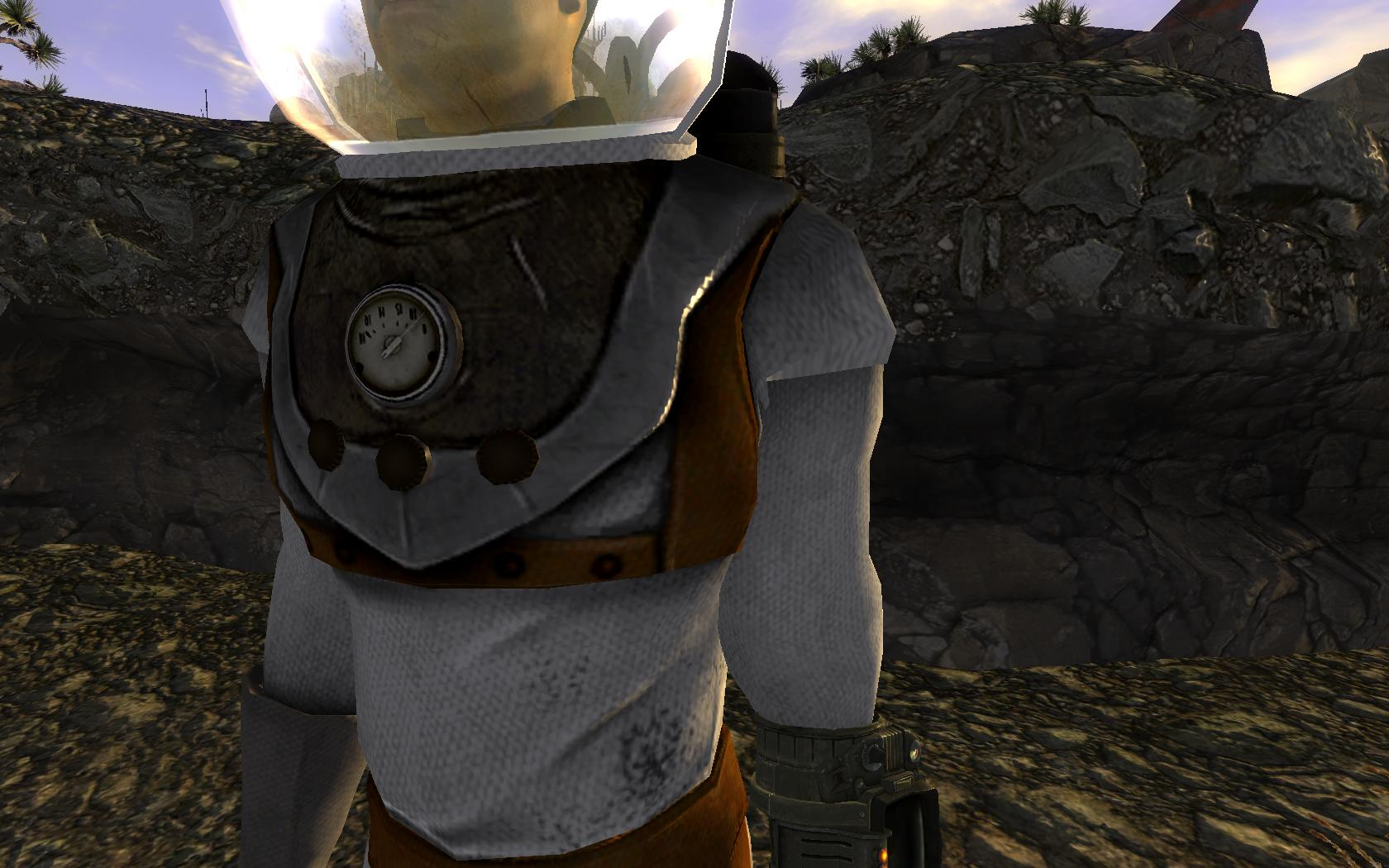 Recolored Space Suit at Fallout New Vegas - mods and community