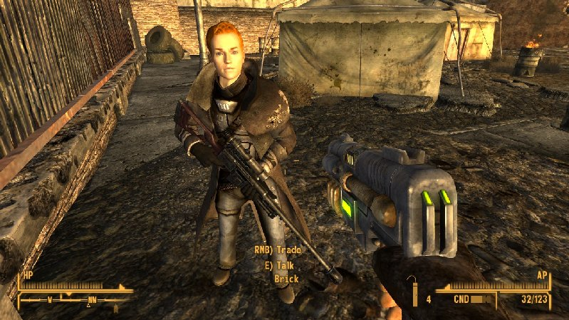 Brick NCCS - Sniper Companion at Fallout New Vegas - mods and community