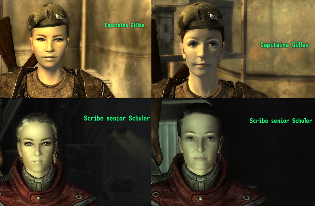 Fallout New Vegas Reloaded - Beta Test Caucasian Women at