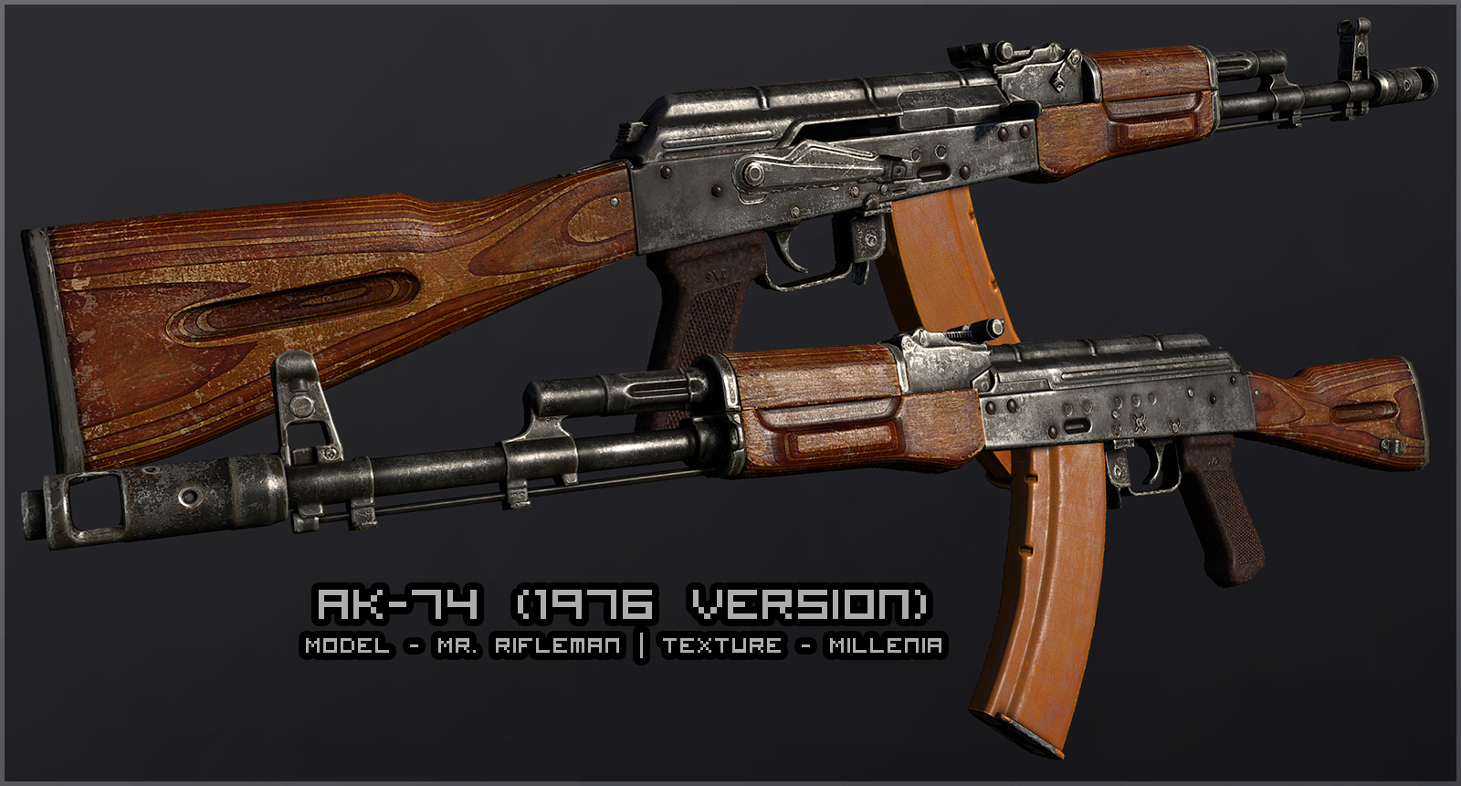AK-74 at Fallout New Vegas - mods and community