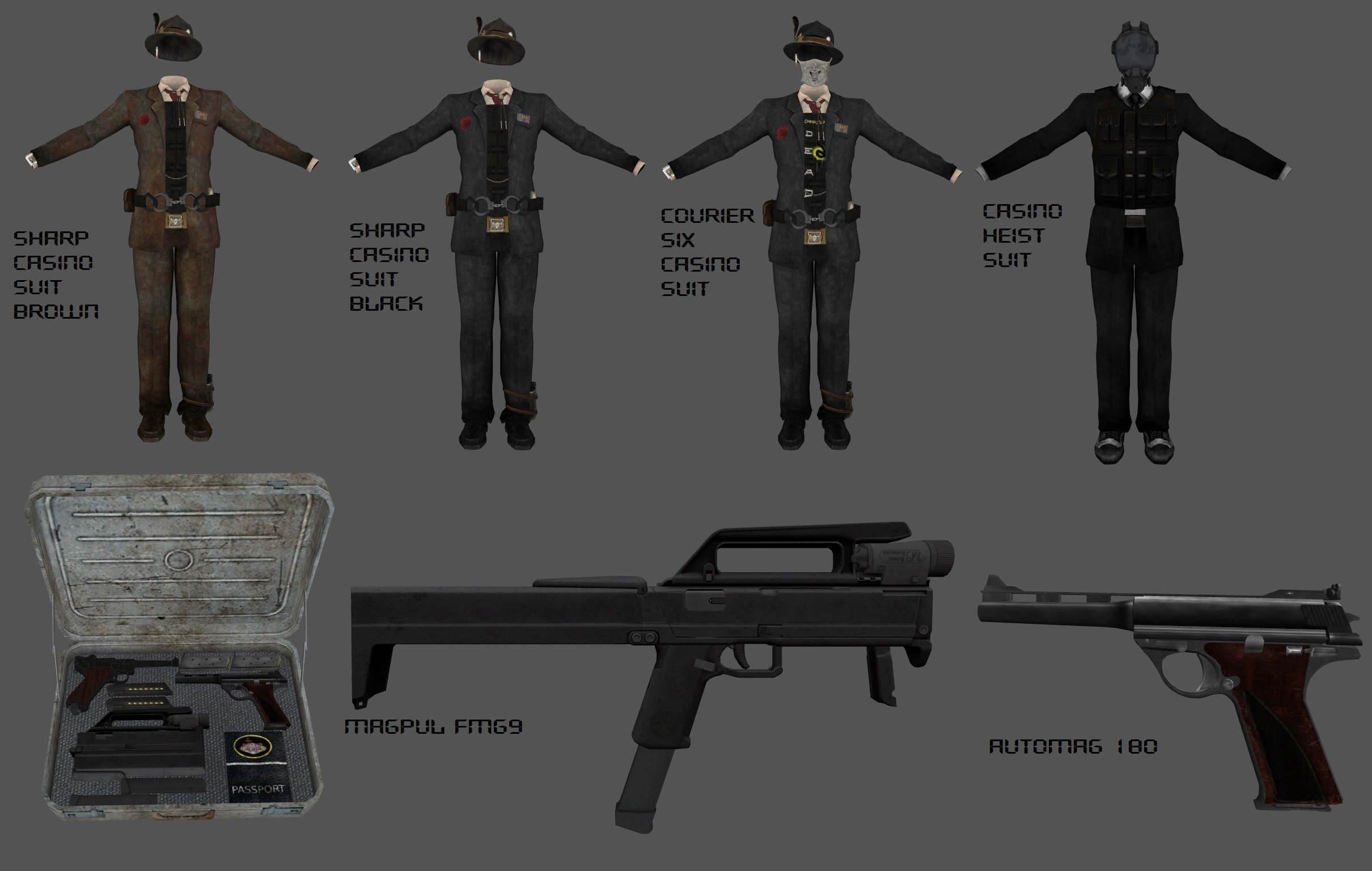 new vegas casino weapons
