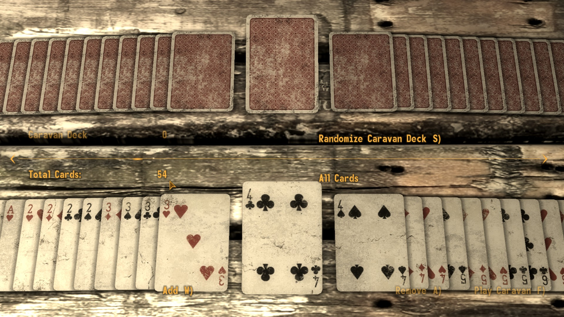 how to win at caravan fallout new vegas