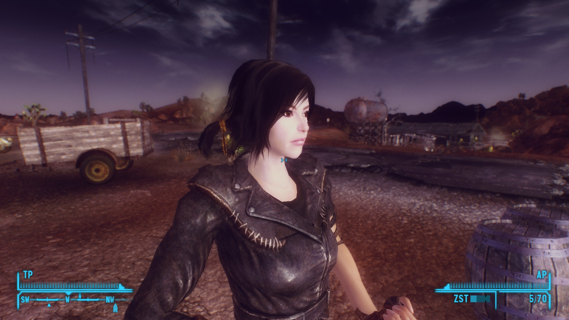 Groovy Dk Female Face Texture Plus Custom Hair At Fallout New Vegas Hairstyles For Men Maxibearus