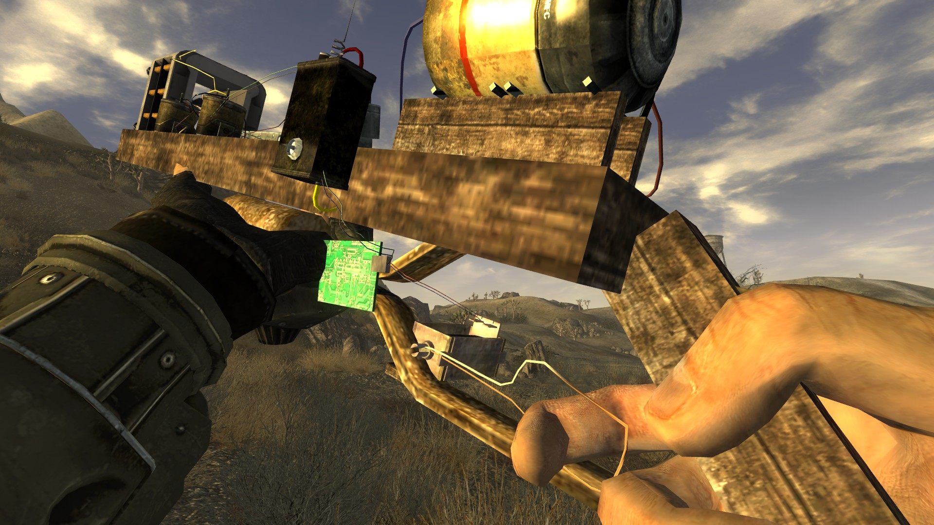 how to fix a weapon in fallout new vegas