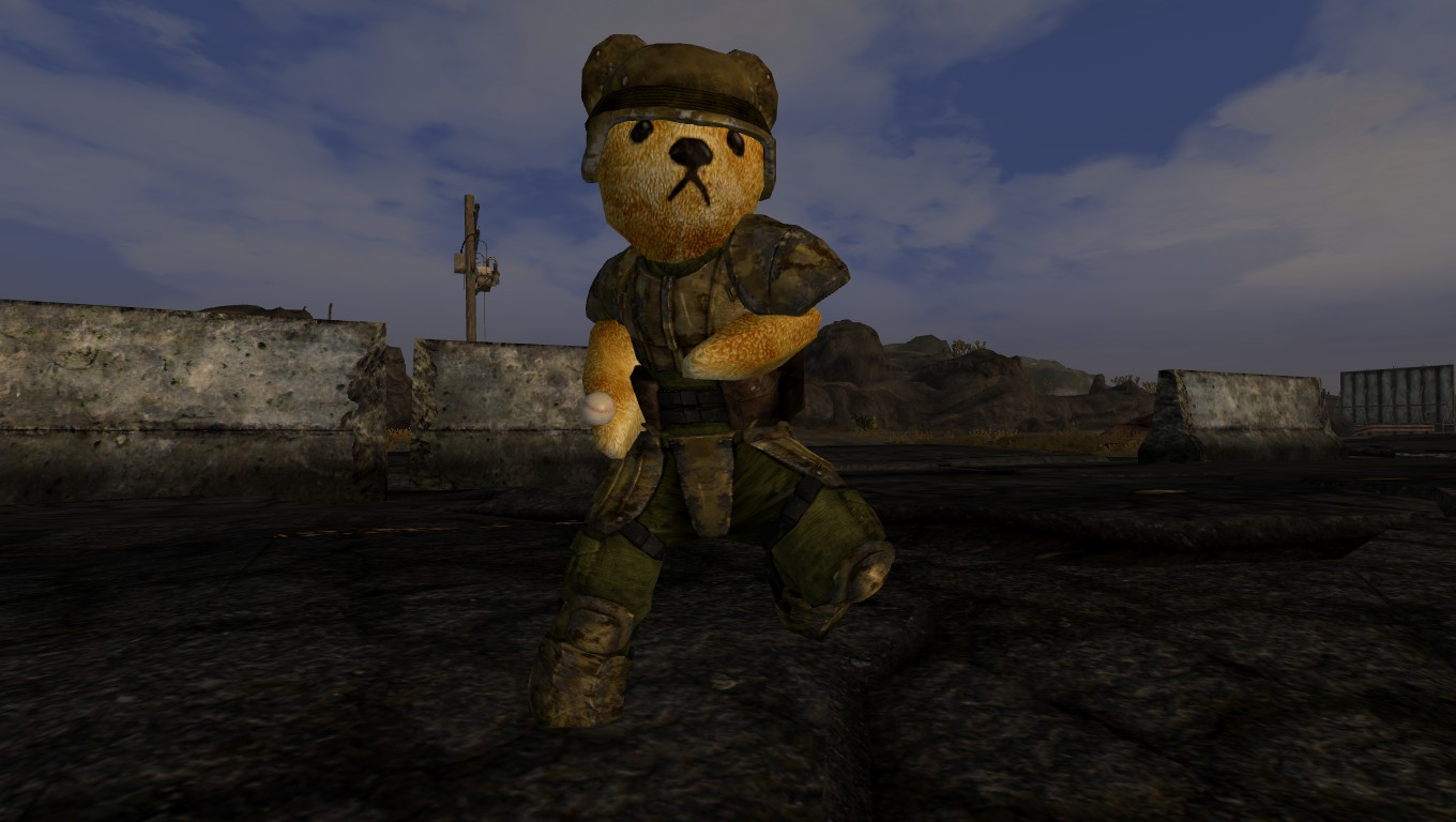 Rusty The Bear Companion Mod At Fallout New Vegas Mods And Community