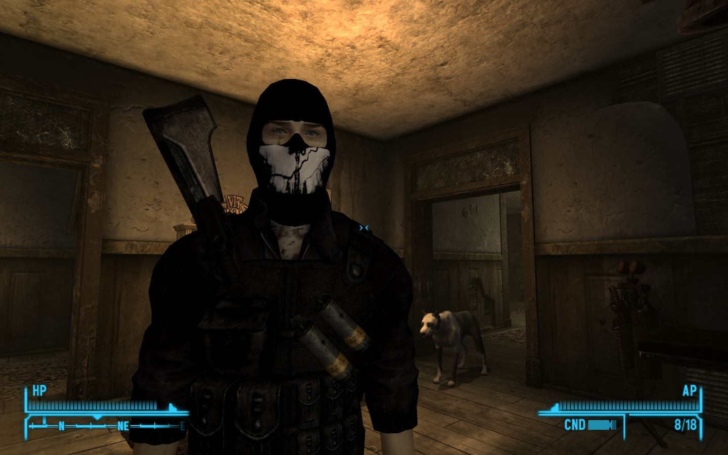 Call of Duty Ghosts Complete Overhaul at Fallout New Vegas - mods ...