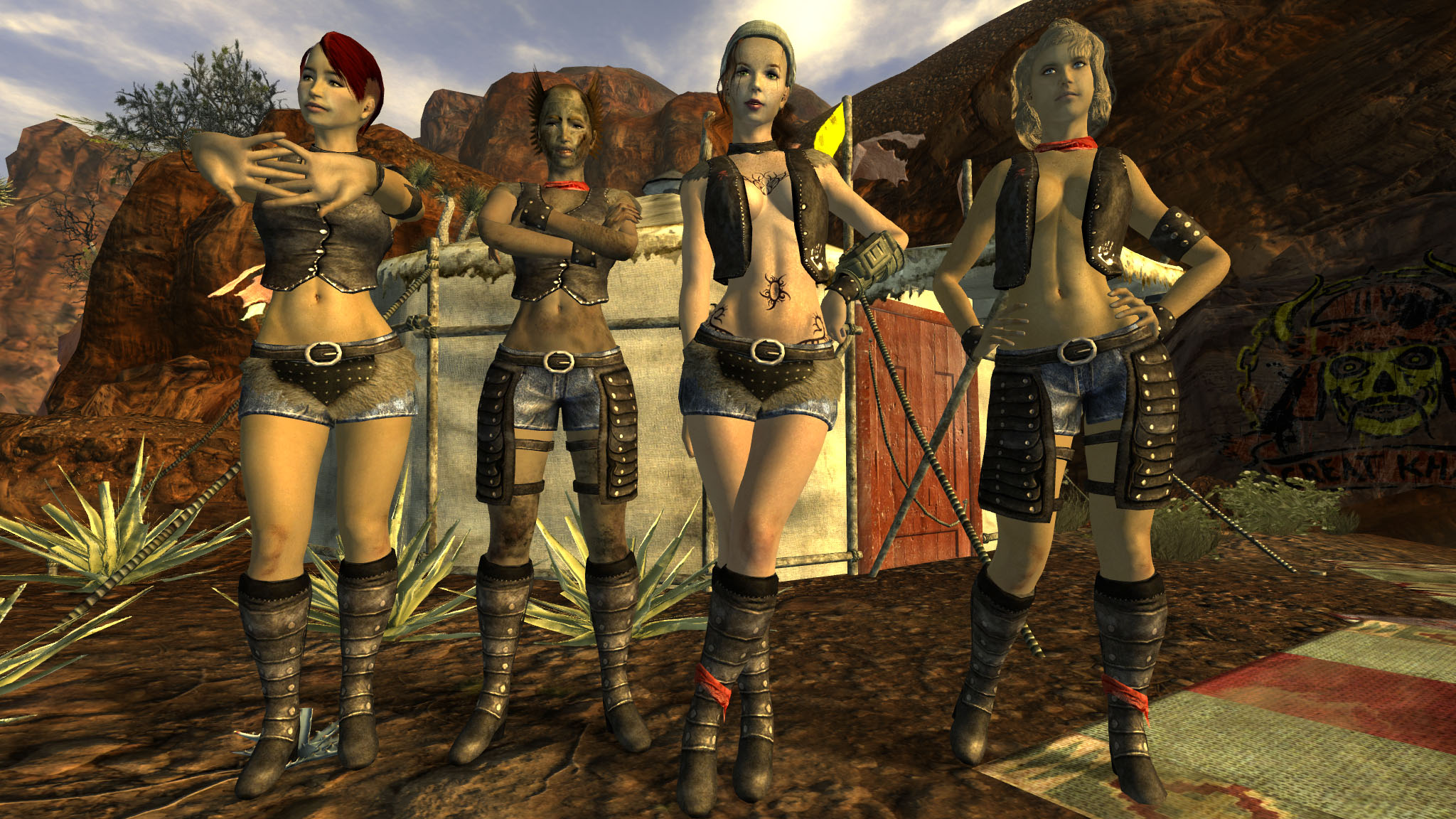 Fallout new vegas sexy females adult pics