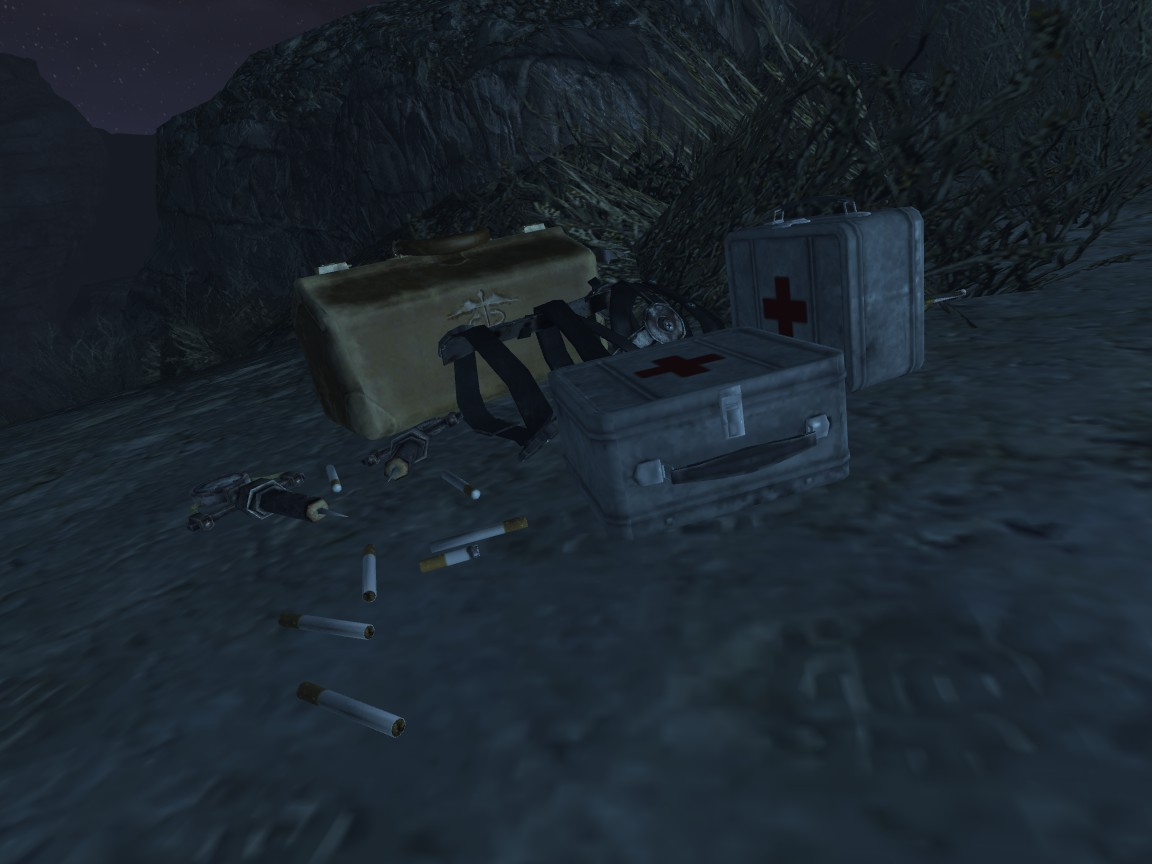 Med-Tek Trauma Kit - A Medical Mod for Healing Crippled and
