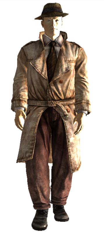 Trenchcoat At Fallout New Vegas Mods And Community