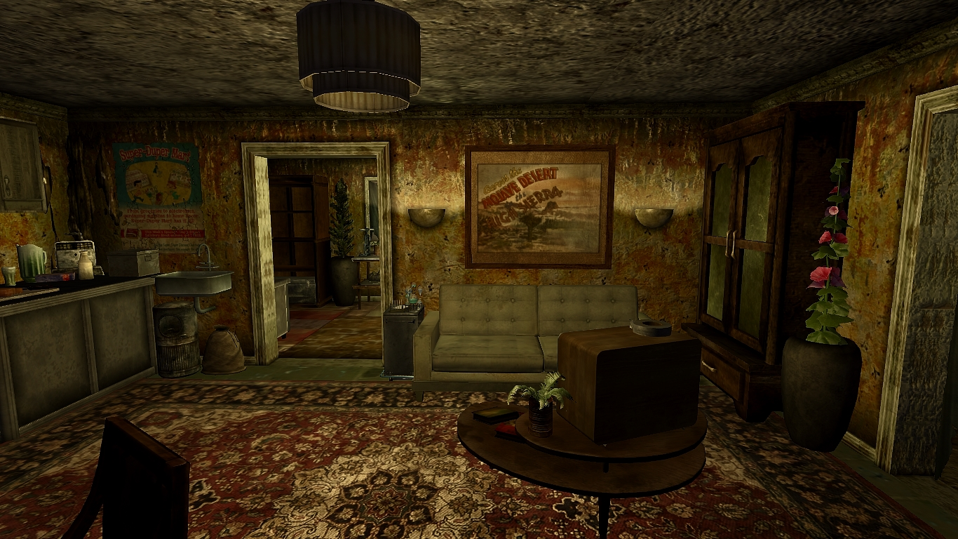 Lonely House Decorative Items And Clutter At Fallout New Vegas Mods And Community