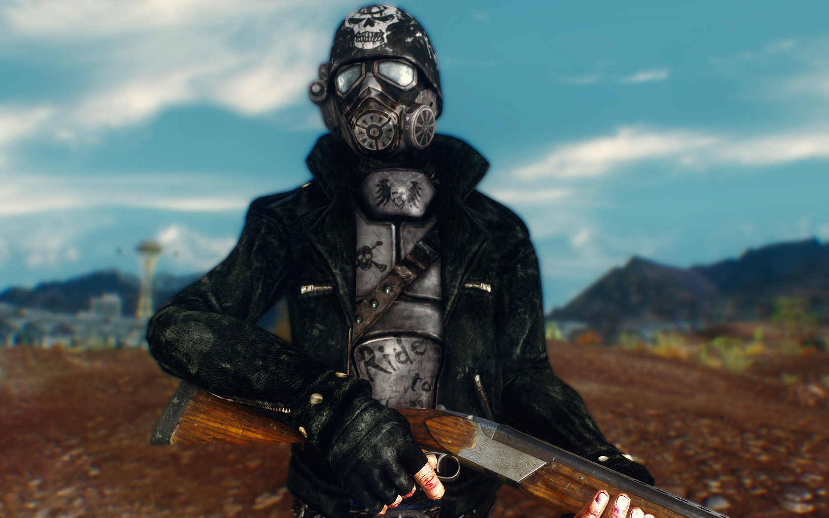road fighter armor at fallout new vegas mods and community Oblivion Game Cover Oblivion Game Logo