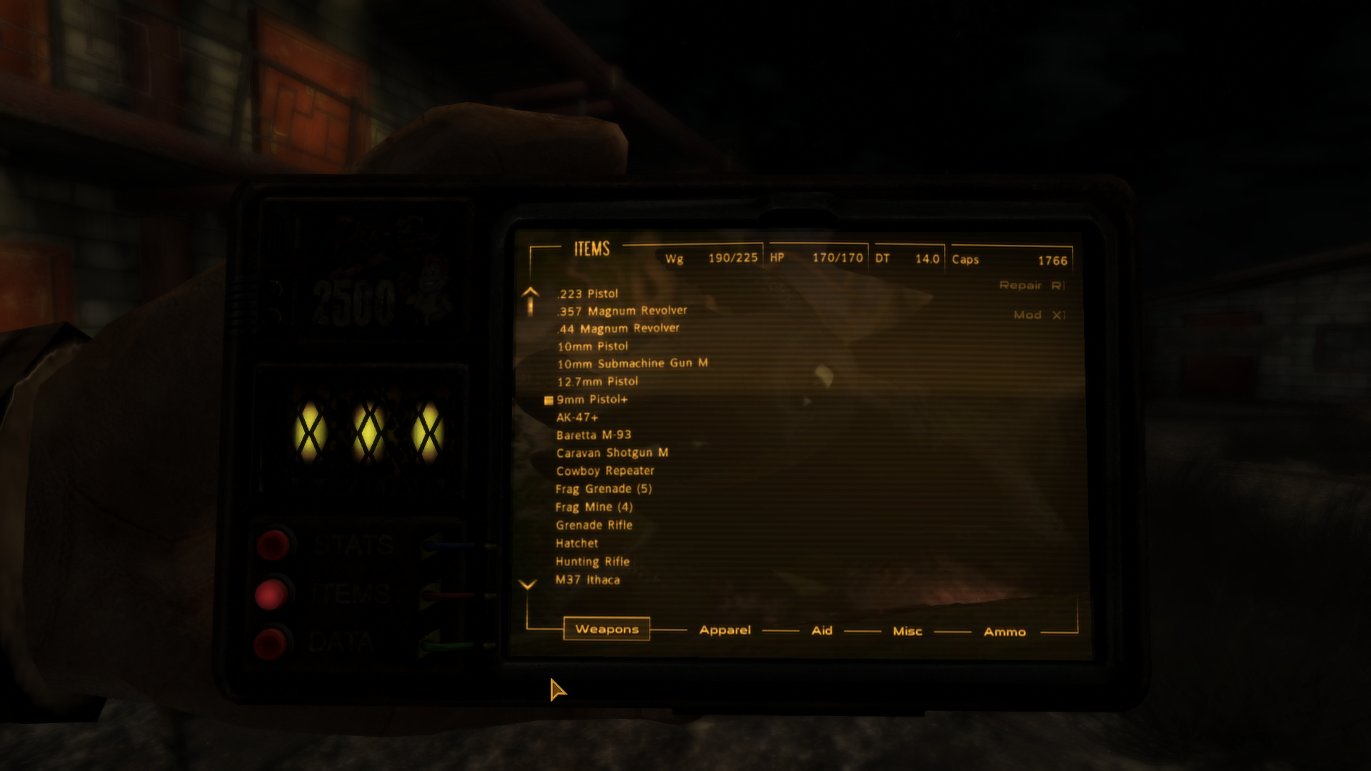 Pip-Boy 25 A - The Arm Mounted Pipboy 25 at Fallout