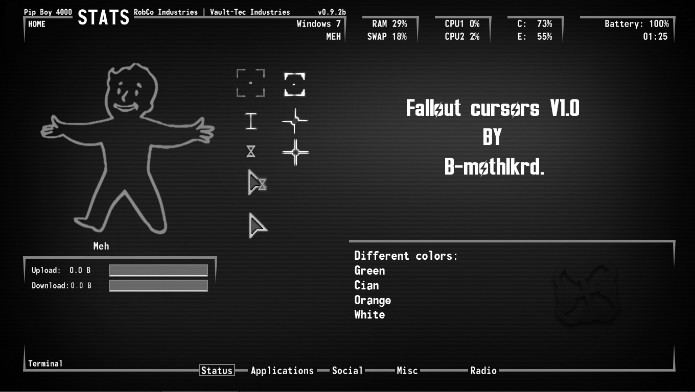 Custom Fallout Cursors at Fallout New Vegas - mods and community
