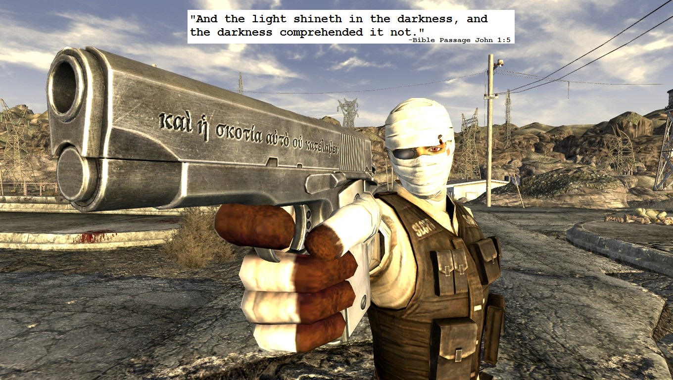 A Light Shining In The Darkness 45 Auto Buff at Fallout New Vegas