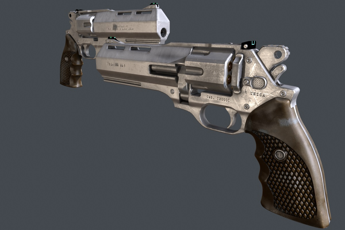 Alien Isolation Magnum Revolver At Fallout New Vegas