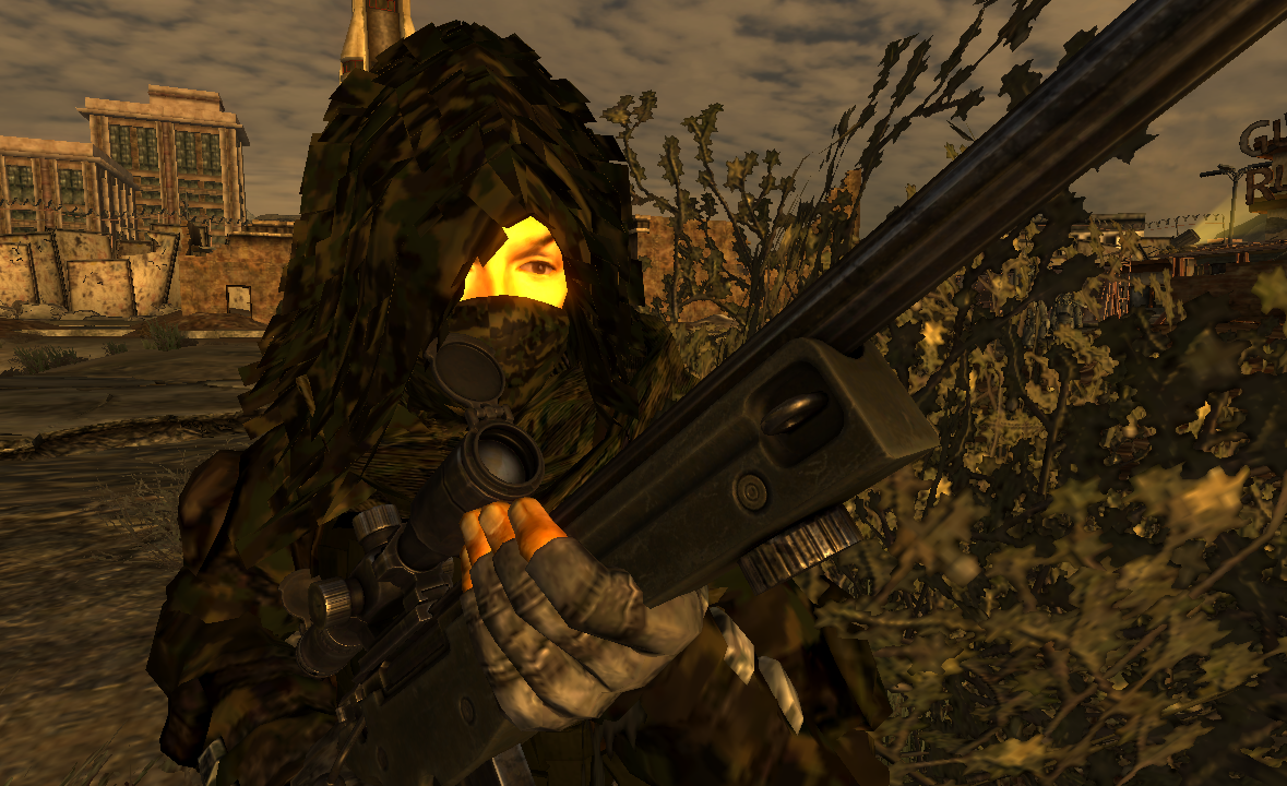 Ghillie Suit at Fallout New Vegas - mods and community