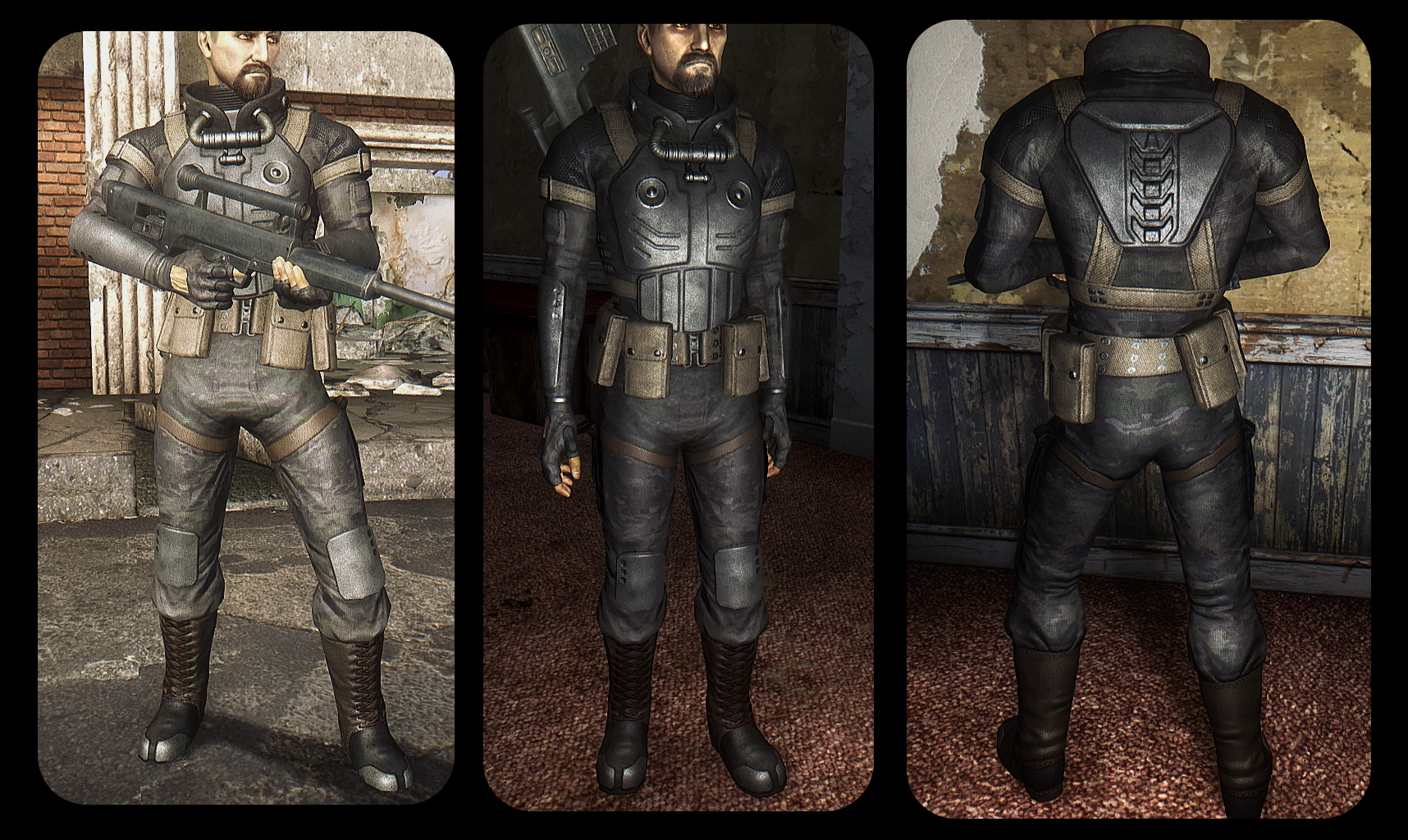 Shifting Shadows - 2k Assassin and Stealth Suit Retextures ...