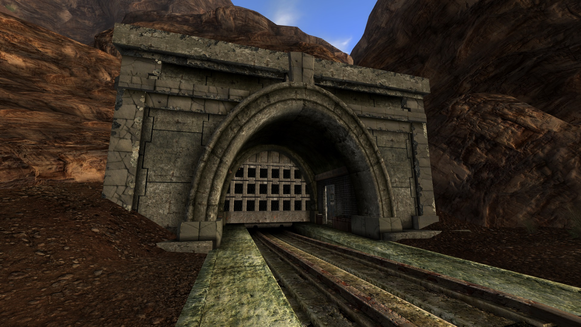 The Break Room Train Tunnel Player Home At Fallout New Vegas