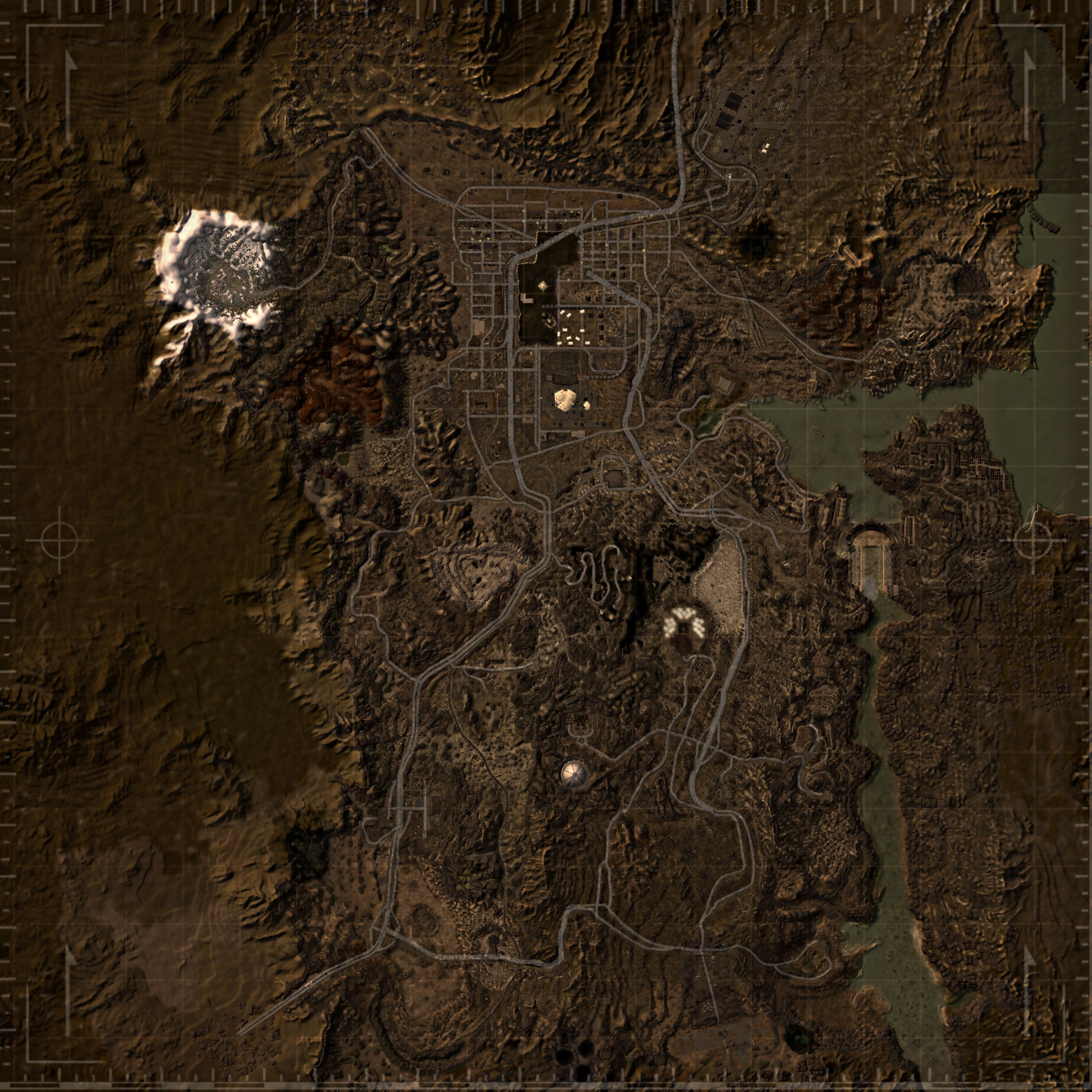 Realistic World Map at Fallout New Vegas mods and community