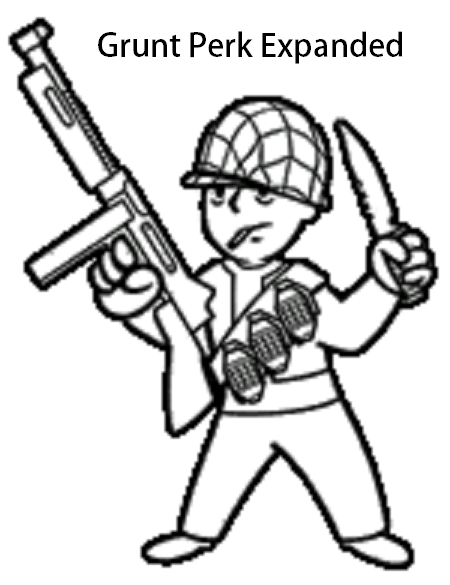 Grunt Perk Expanded At Fallout New Vegas