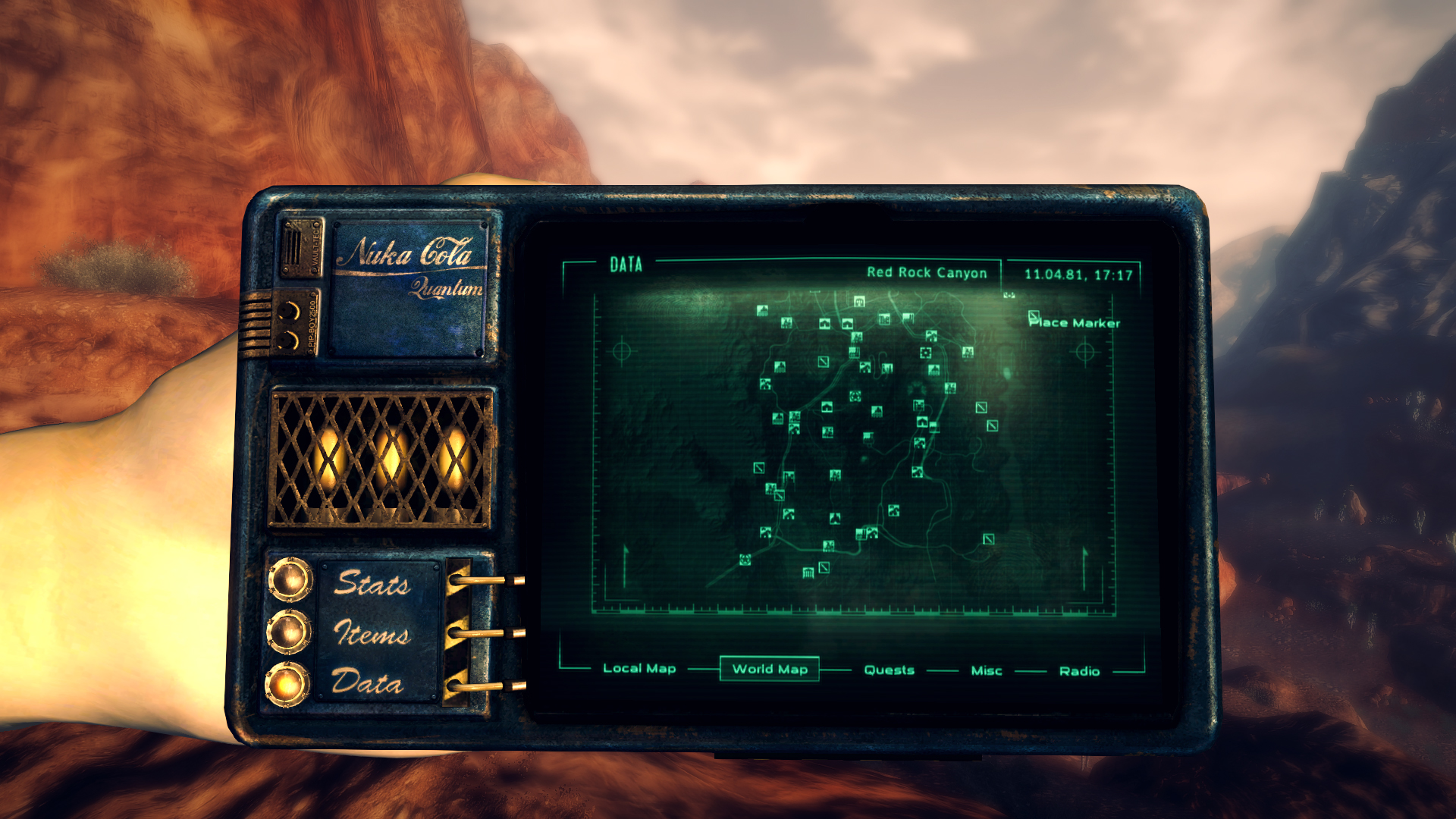 Pip boy 25   Tale of Two Wastelands