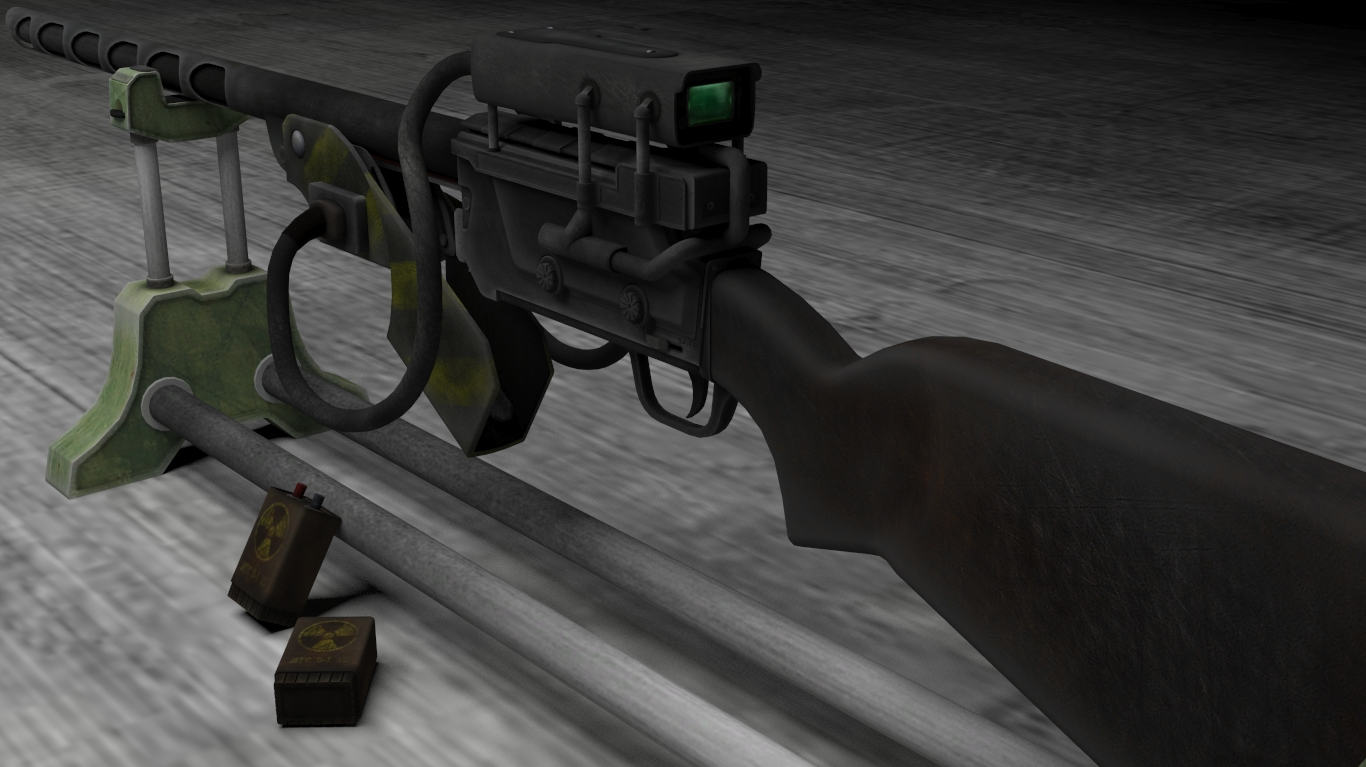 Cfa Classic Wattz 2000 Laser Rifle At Fallout New Vegas