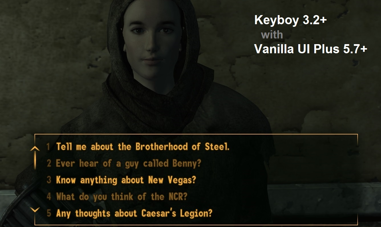 KeyBoy - UI Hotkeys Manager (M for Map) at Fallout New Vegas