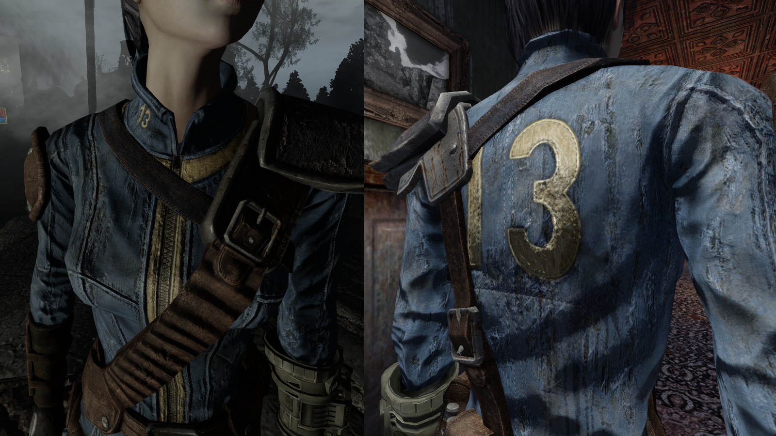 Hr Armored Vault 13 Jumpsuit At Fallout New Vegas Mods And Community