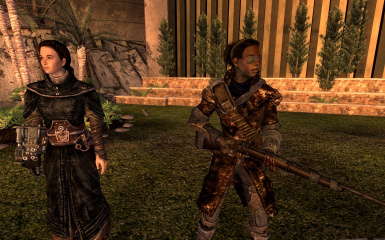 Armored Robes and Deathclaw Duster