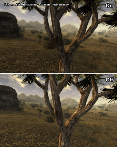 Photorealism Comparison vs Vanilla