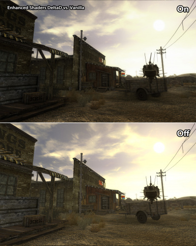 Enhanced Shaders vs Vanilla Comparison 02
