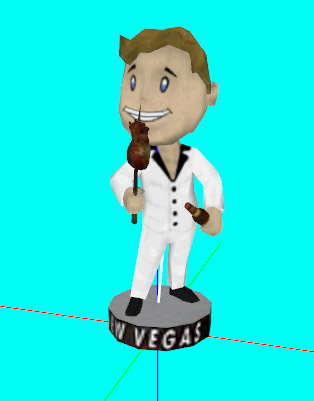 Survival Bobblehead by Brumbek - Shown with Optional Retexture