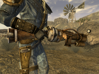 railway rifle revival at fallout new vegas mods and. Black Bedroom Furniture Sets. Home Design Ideas