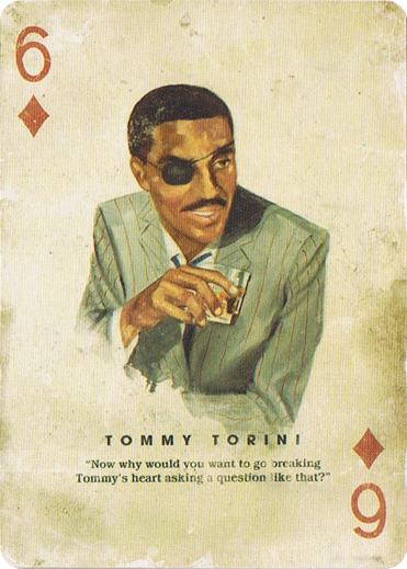 Tommy Torini - Has Base African American Hair