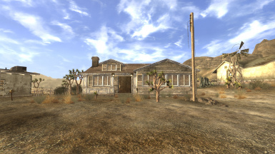 Large Goodsprings Player Home
