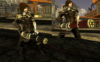 Classic HK L30 Gatling Laser at Fallout New Vegas - mods and