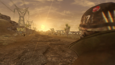 Another dawn in the wasteland
