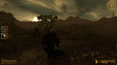 On an early morning New Vegas Bounty Hunt